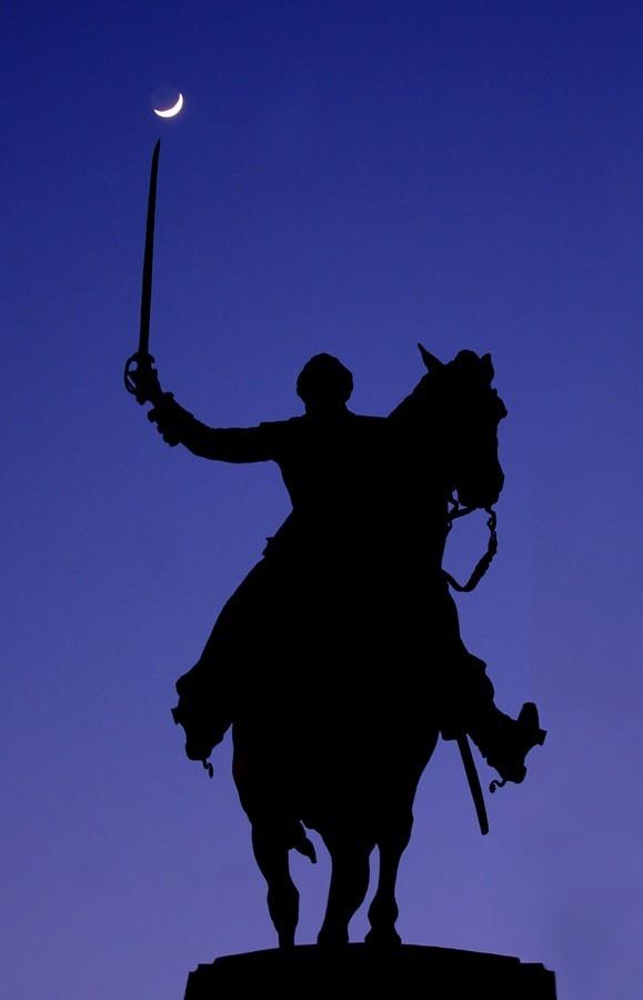 Statue de Lafayette à Paris