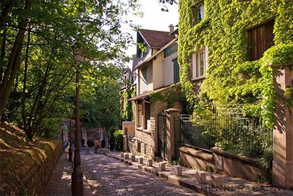 Montmartre, la campagne à Paris
