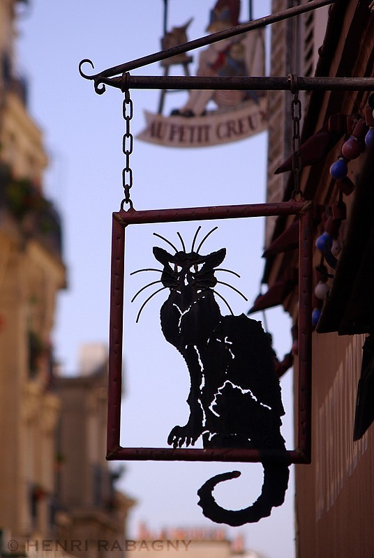 Le Chat Noir, symbole des cabarets montmartrois
