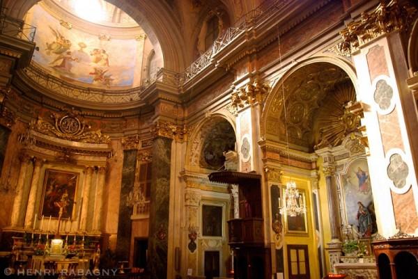 Nice, l'église Sainte Réparate