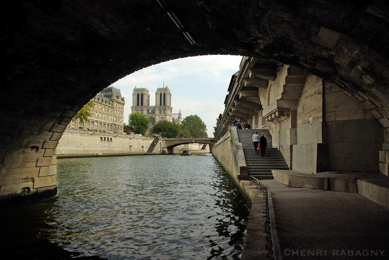 Notre-Dame depuis le pont Saint-Michel