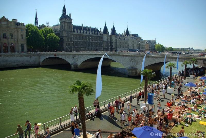 Paris plage 2007