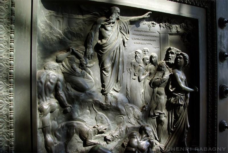 Porte de la Madeleine, détail