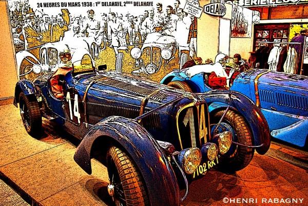 Salon Rétromobile 2008 à Paris