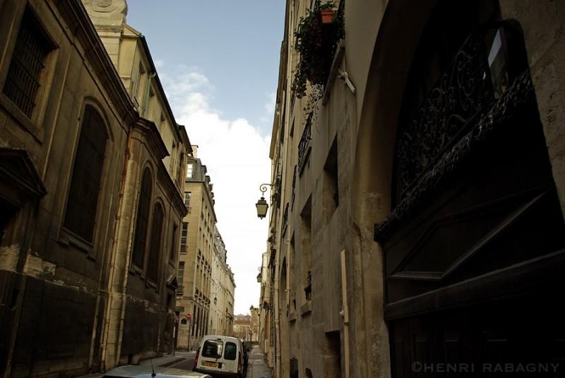 Rue Poulletier, île Saint-Louis à Paris