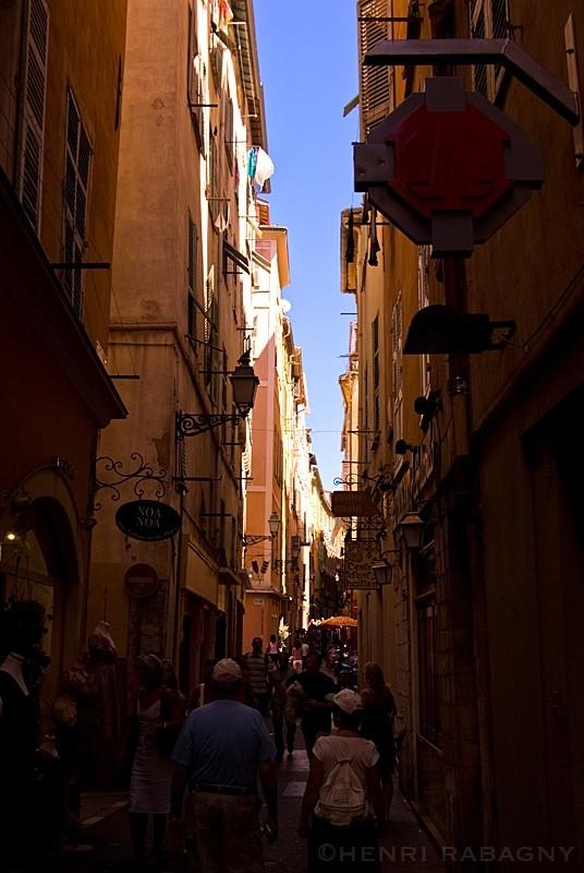 Nice côté rue historique