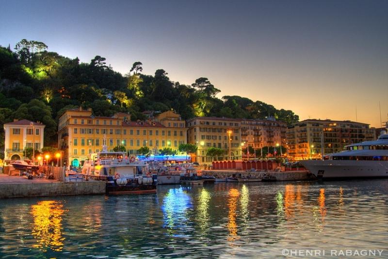 Port de Nice en HDR