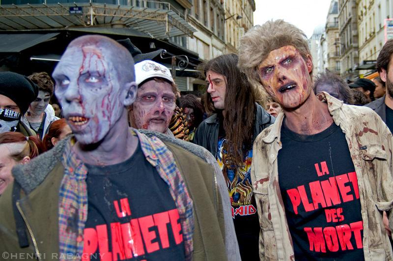Zombie Walk Paris 2008
