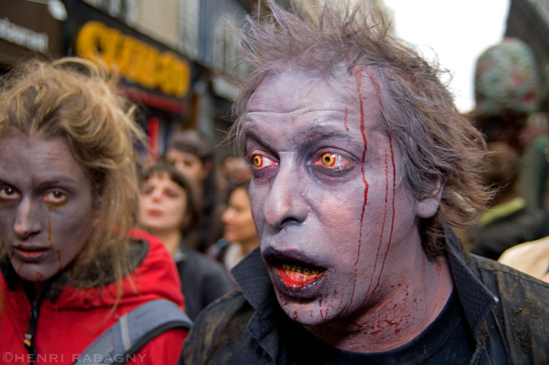 Zombie Walk Paris 2008