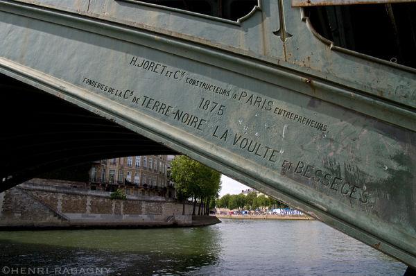 Pont Sully à Paris - 1875 la renaissance