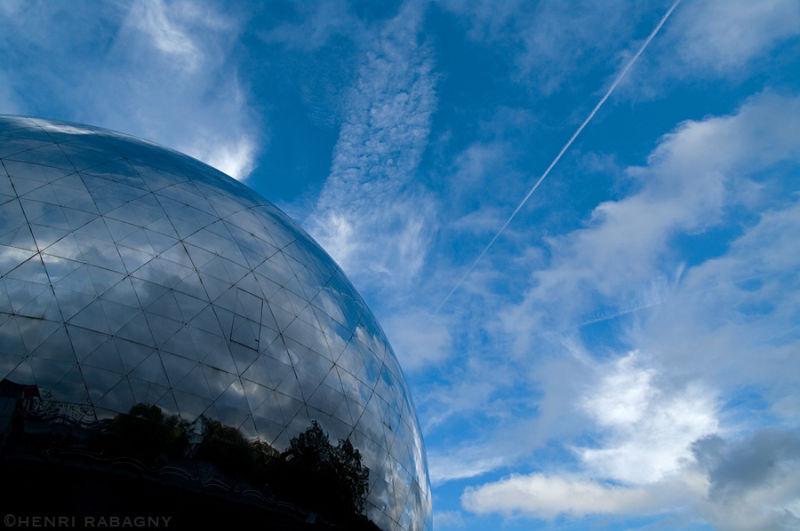 Cité des sciences - la Géode