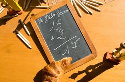 Vitrine de la boulangerie Le Délice Parisien