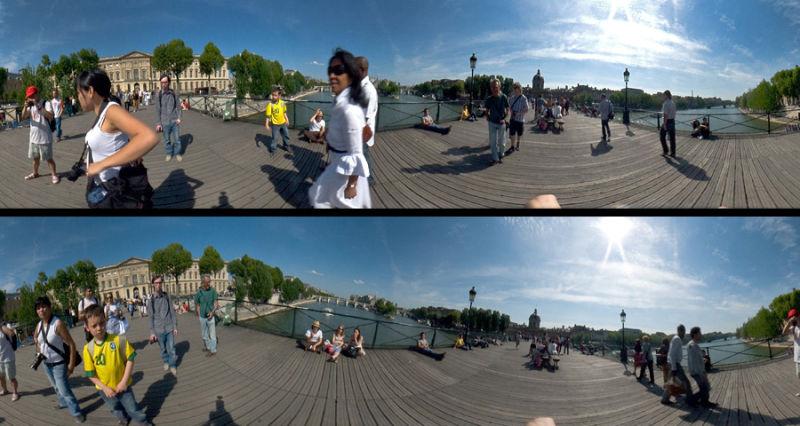 Le Pont des Arts à 360°