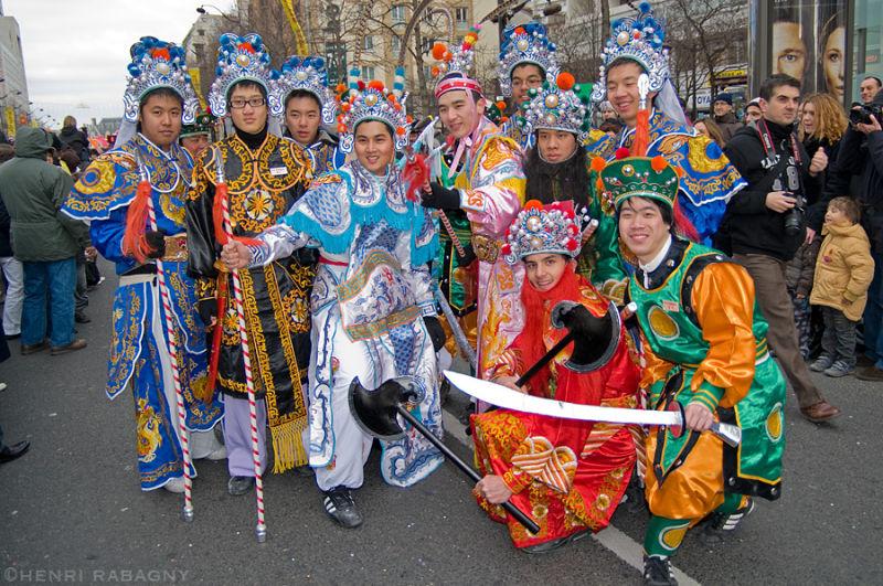 Parade du nouvel an chinois 2009