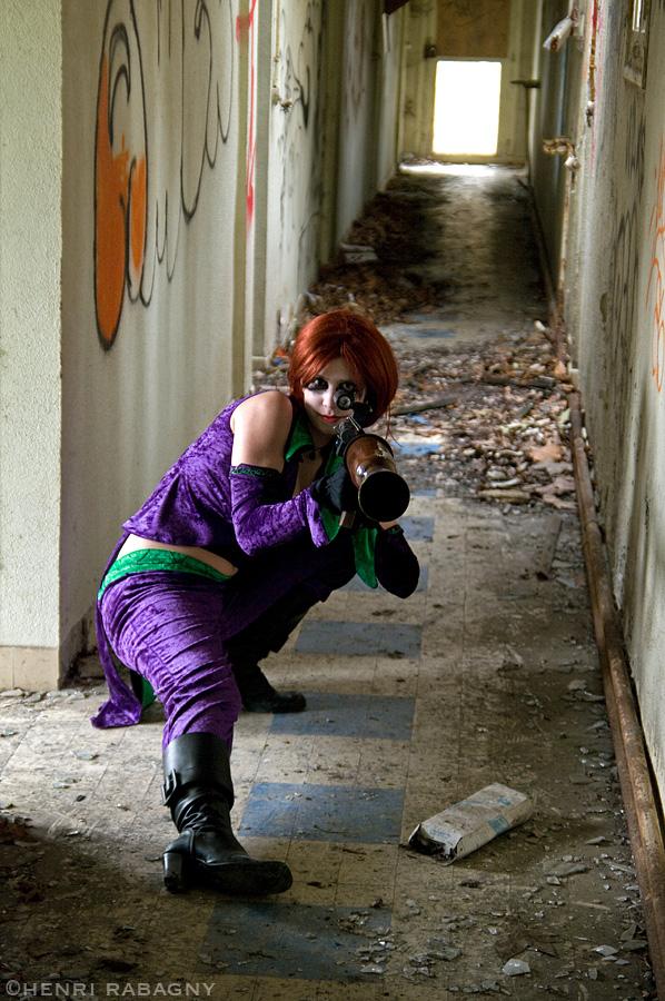 Séance photo Joker Girl au sanatorium