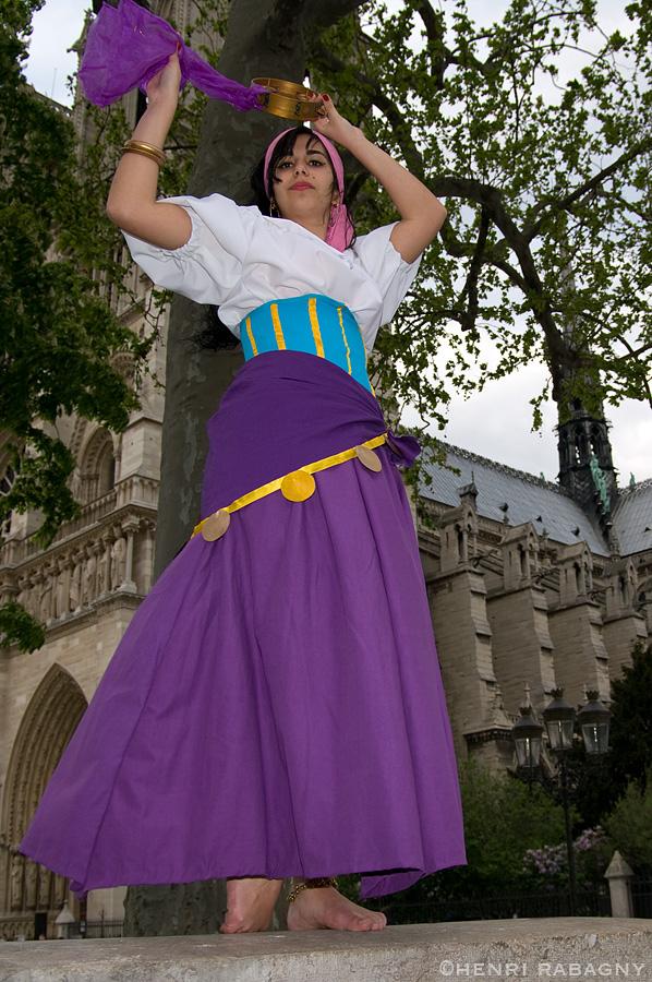 Séance Esméralda à Notre Dame