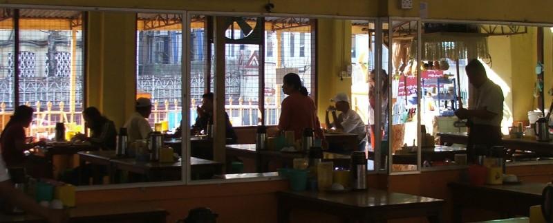 breakfast in Yangon