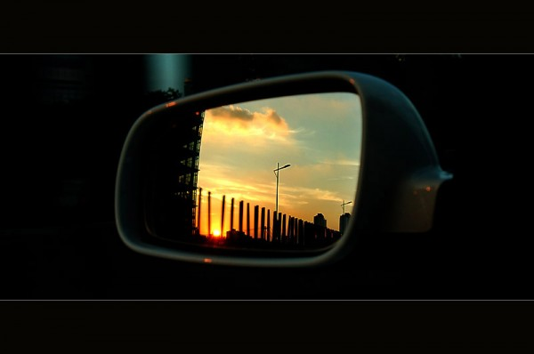Scenery in  The Rearview Mirror