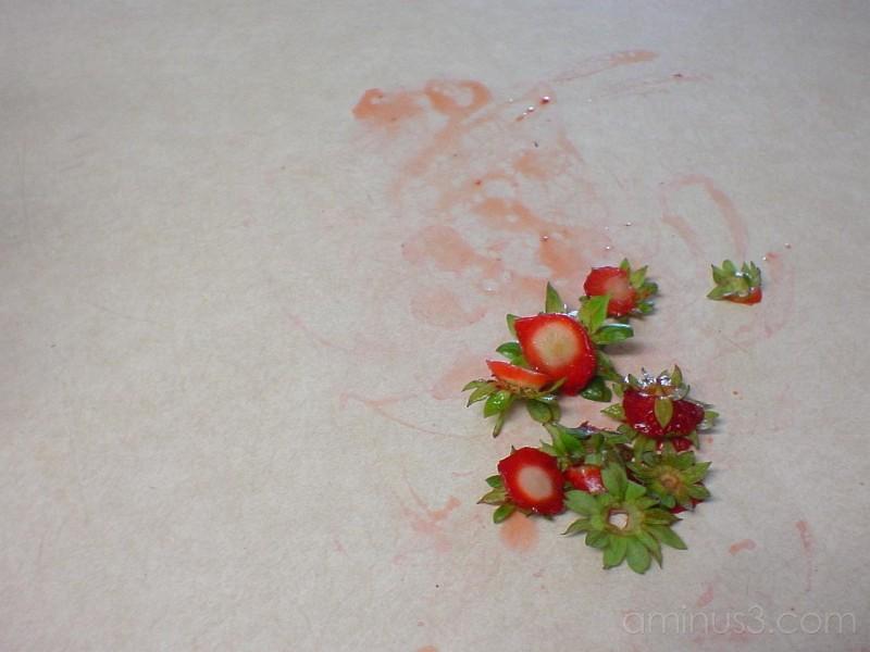 Strawberry Leftovers
