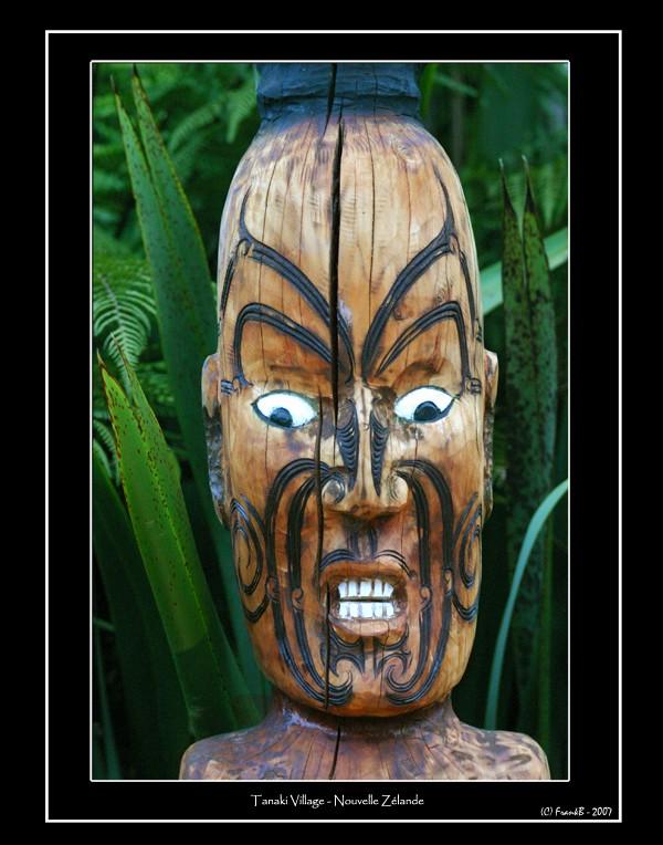 Sculpture maori - 2006