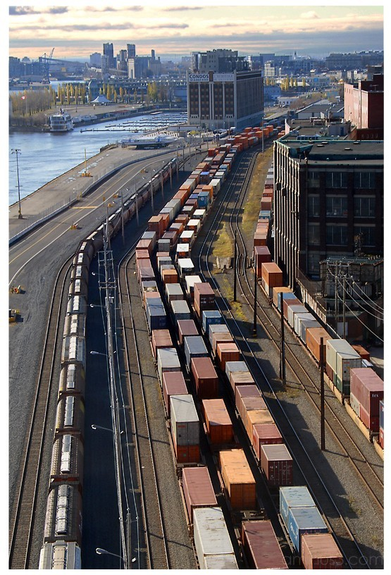 Montreal's port - 2006
