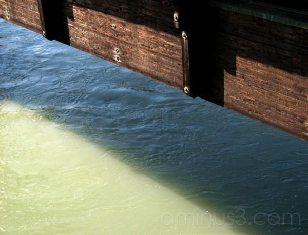 timber bridge / innsbruck