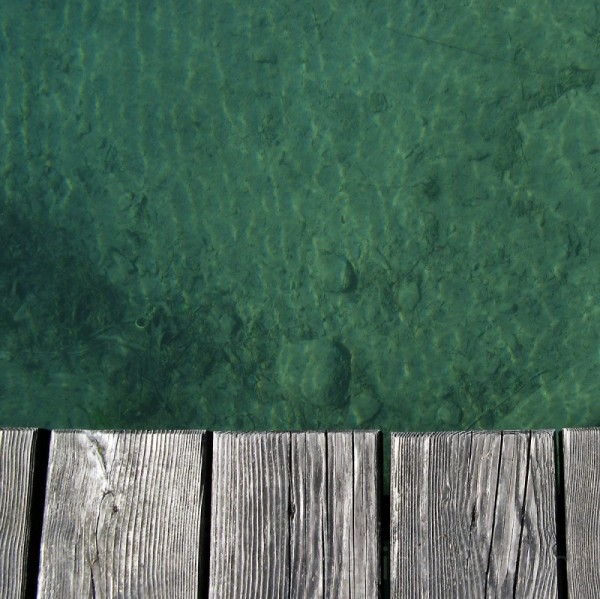 bridge and water / attersee