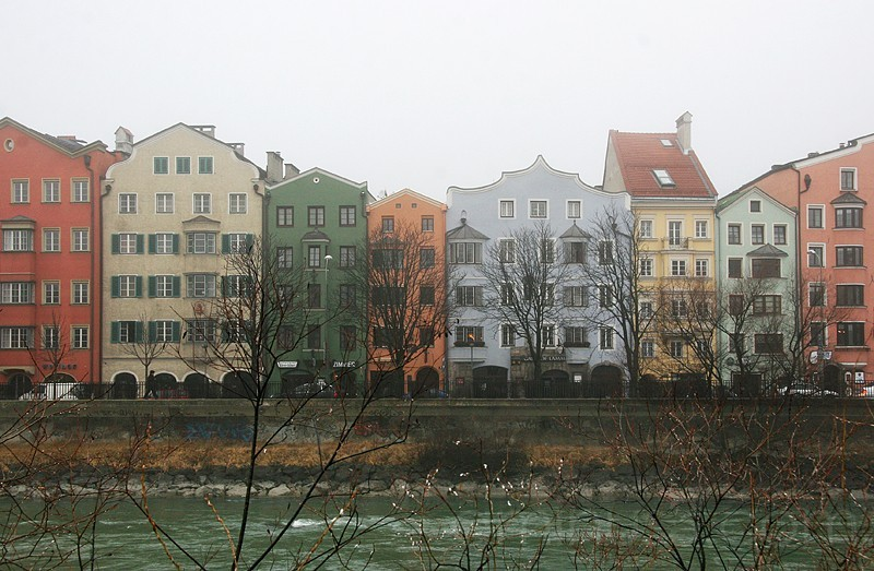 a foggy day / innsbruck