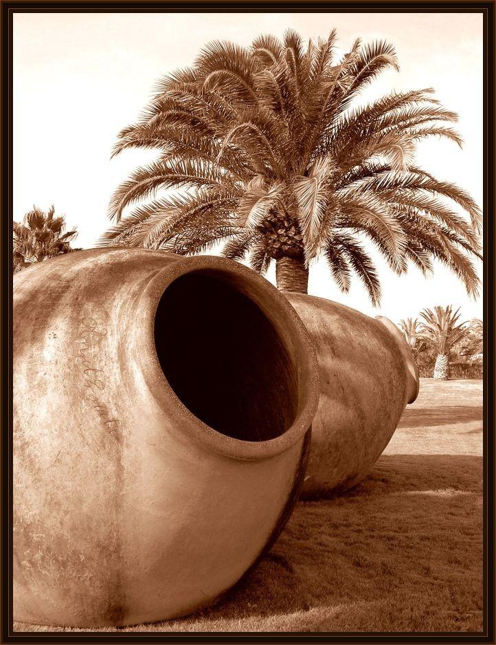 Giant Terra Cotta Pots