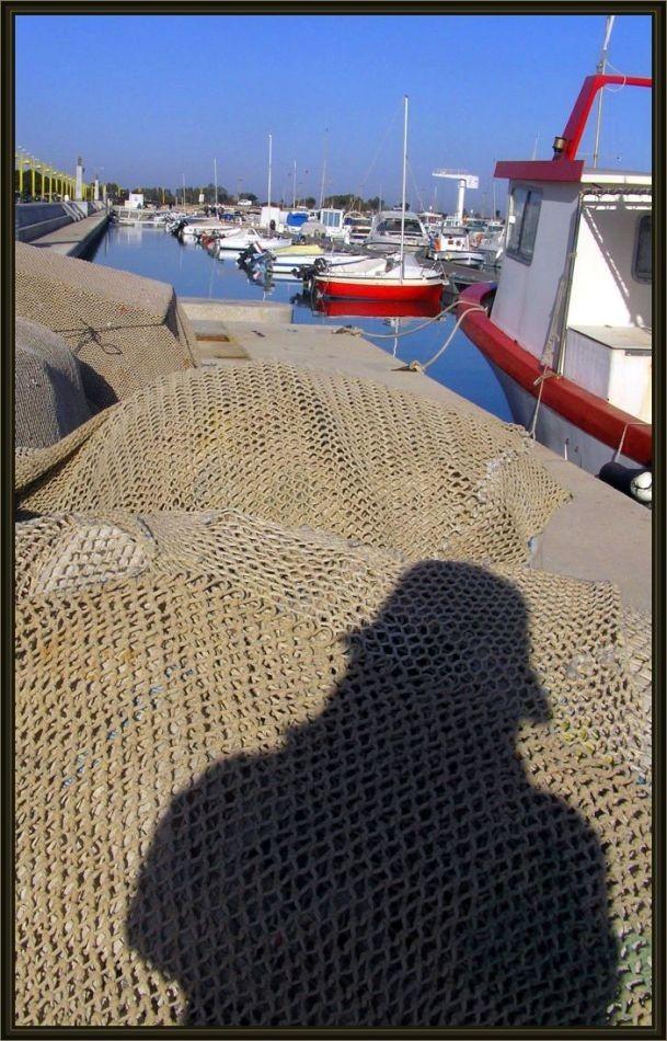 Shadow-Portrait 2 - At Denia Harbor