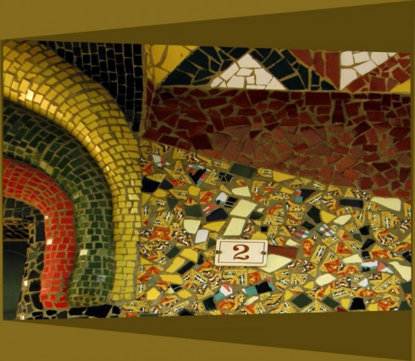 Mosaic on The Wall