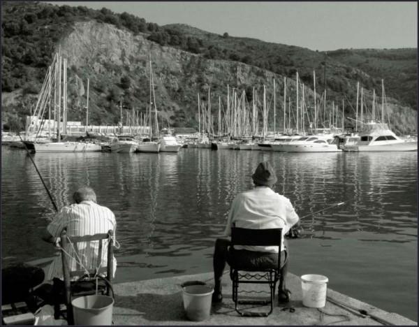 Fishing at The Harbor