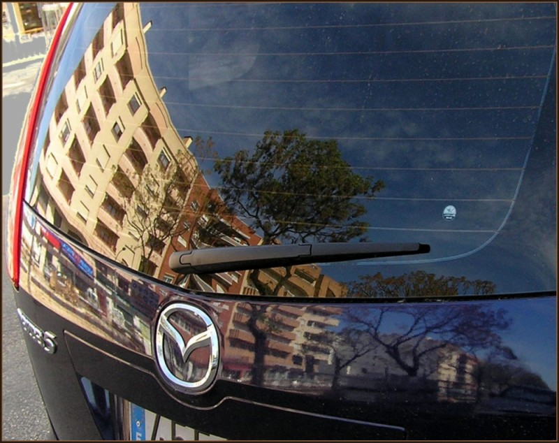 Reflection - Car Window