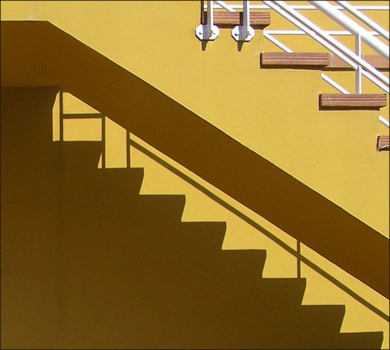 -  Shadow of  Stairs  in colour-