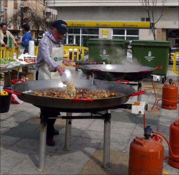 Paella Festival in Oliva Town