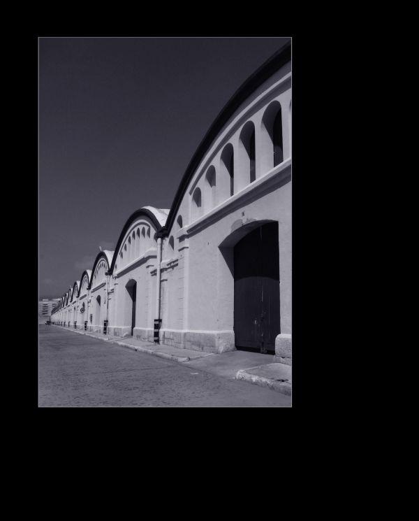 Warehouse district in Gandia Grau