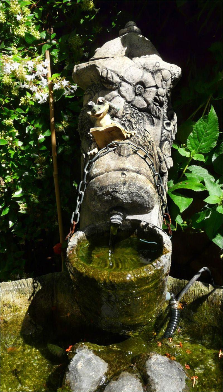 Garden Ornament - Water Barrel