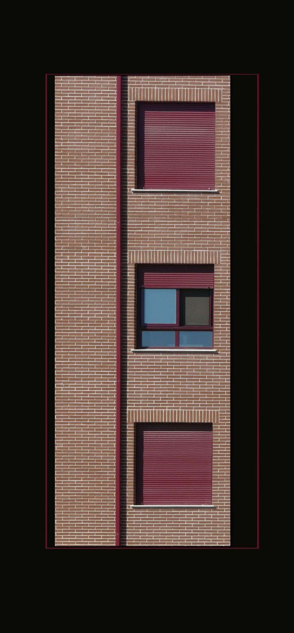 Red Window Shutters