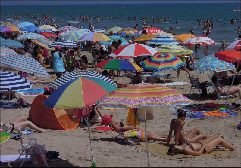 Opening of Swimming Season in Gandia Beach