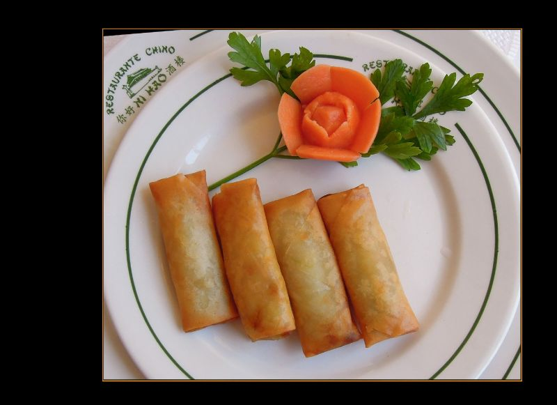 Spring Rolls from my favorite Chinese Restaurant