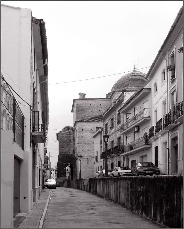 Old Town of Oliva in Church Street