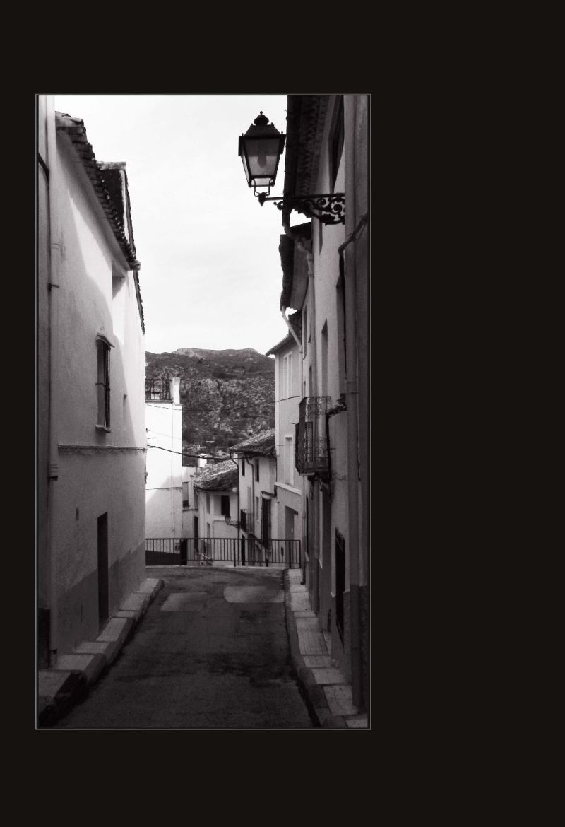 Path of The Mountain Village