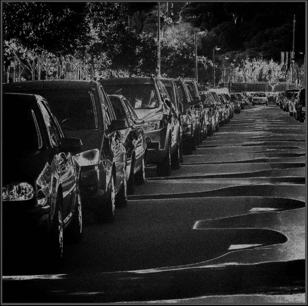 Midnight Parking Cars