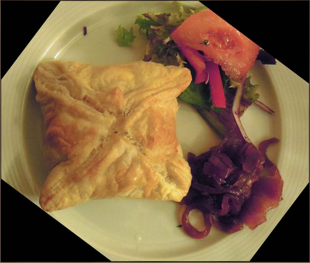 Baked  Phyllo Wrapped Goat Cheese