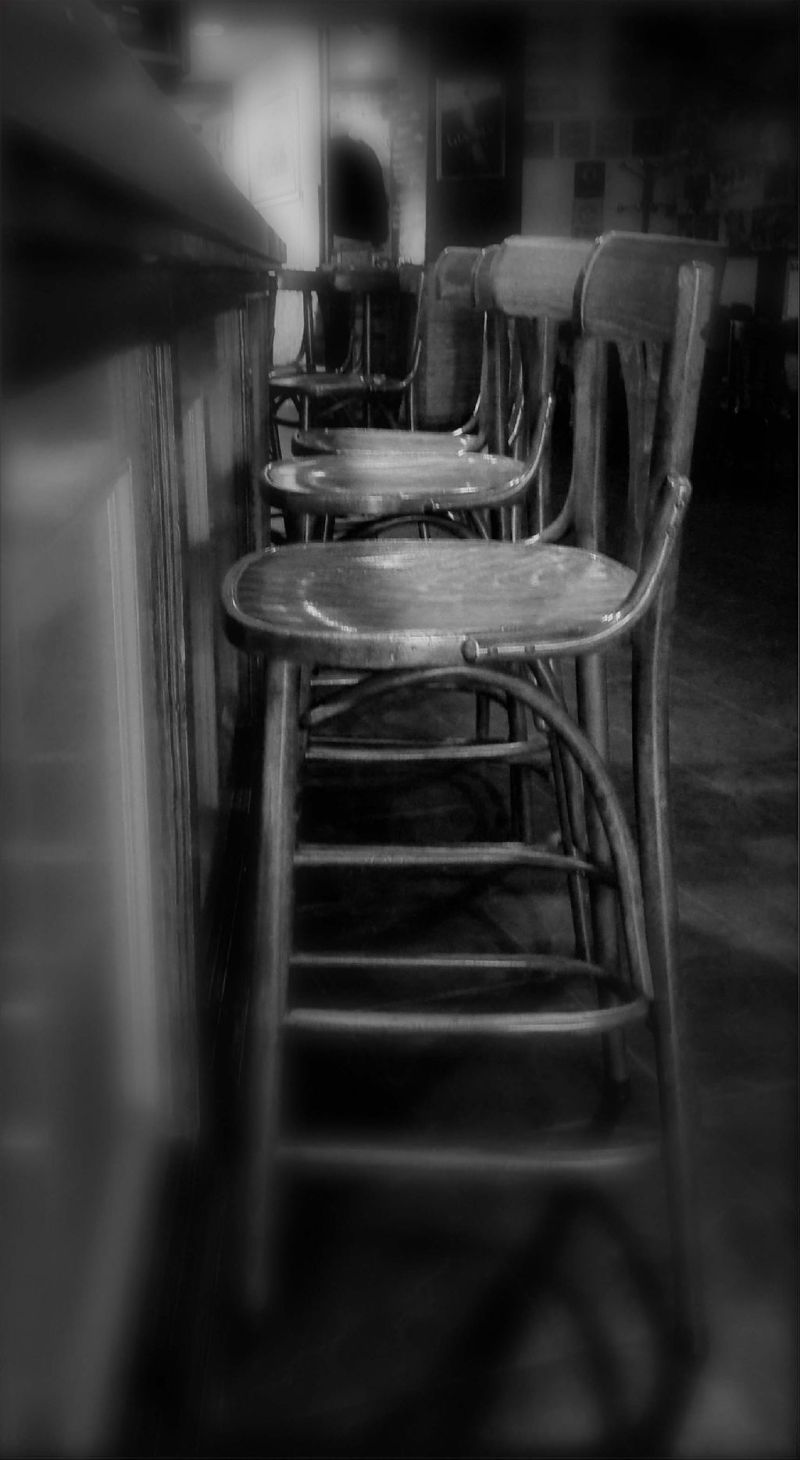 Chairs of The Bar Counter