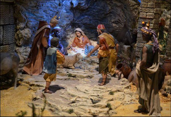 Spanish Nativity Scene