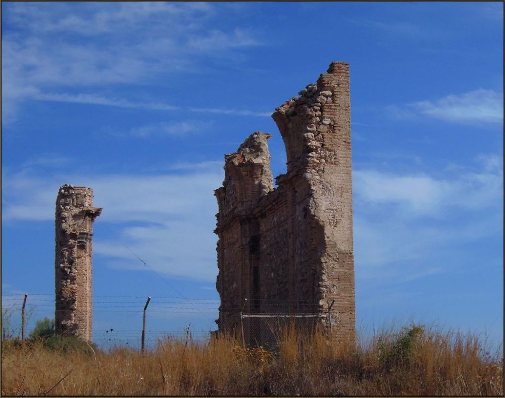 Ruins of A Castle in St. Ana