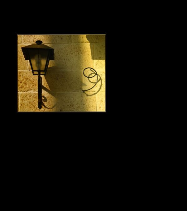 Street Lamp in The Evening Twilight