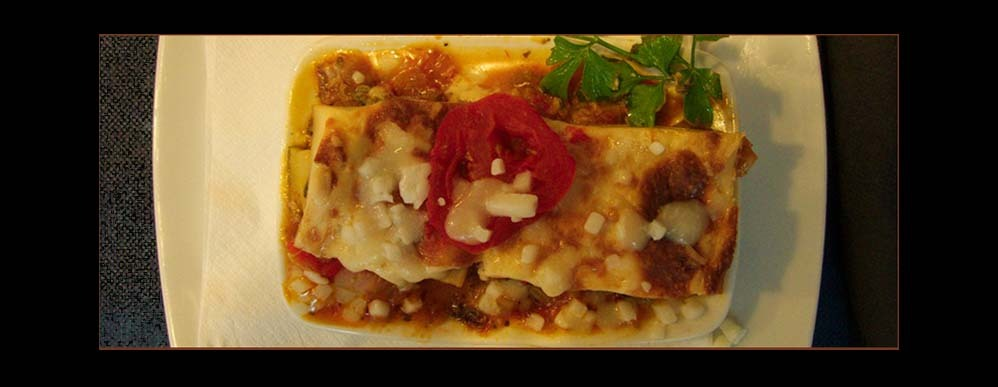 Tapa of The Vegetables Lasagna