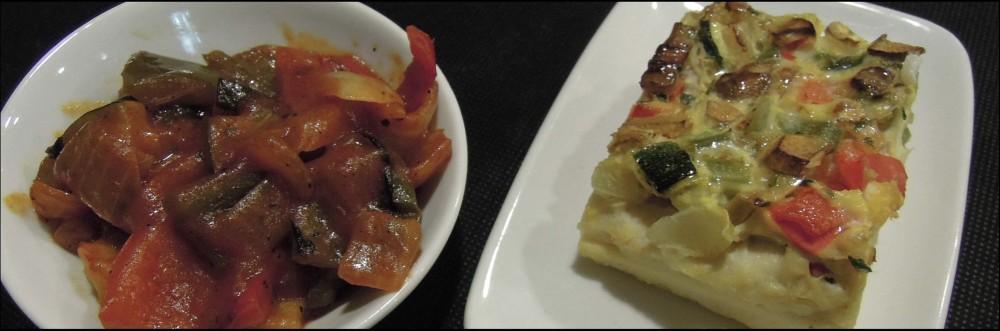 Montaditos -  Vegetables Quiche & Ratatouille